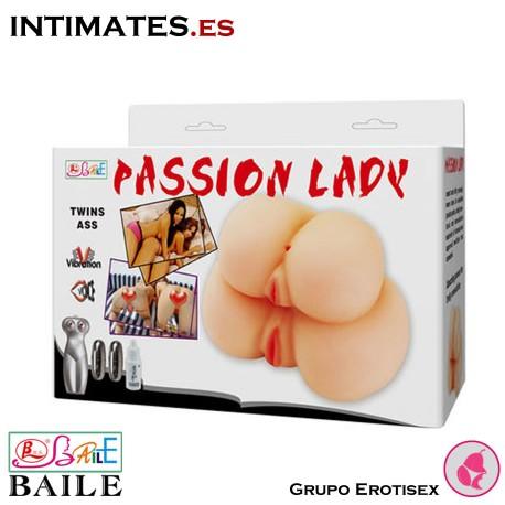Twin Ass · Masturbador vagina y culo · Passion Lady