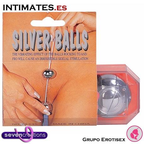 Silver Balls · Bolas Giesha Silver Shades · Seven Creations