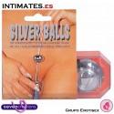 Silver Balls · Bolas Geisha Silver Shades · Seven Creations