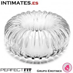 Ribbed Ring Clear · Anillo de pene · Perfect Fit