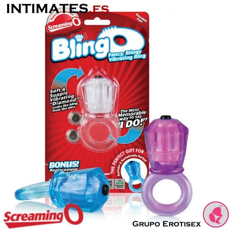 BlingO Clear · Vibe Ring · Screaming O