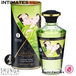 Midnight Sorbet · Aceite de masaje efecto calor · Shunga