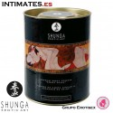 Exotic fruits · Polvos comestibles · Shunga