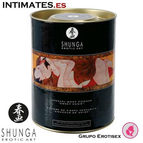 Snow cherry · Polvos comestibles · Shunga