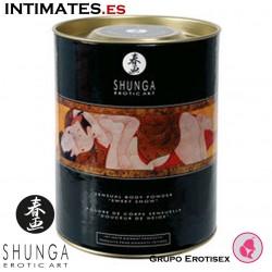 Snow raspberry feeling · Polvos comestibles · Shunga