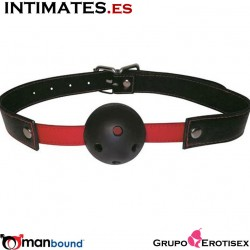 Red Breathable Ball Gag · Manbound