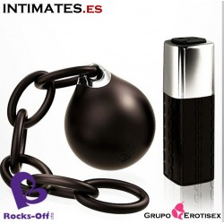 Lust Linx Ball & Chain · Bola kegel control remoto · Rocks-off