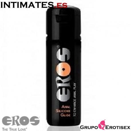 Anal Glide 100 ml · Lubricante silicona · Eros