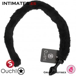Kitty Tail - Black · Plug con cola · Ouch