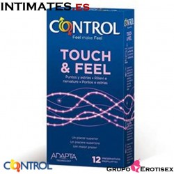 Touch Feel · 12 Preservativos · Control