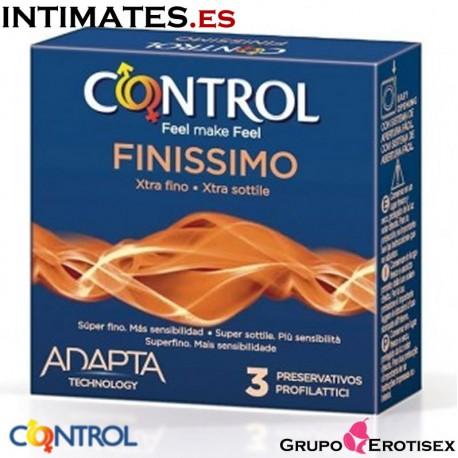 Finissimo · 3 Preservativos · Control