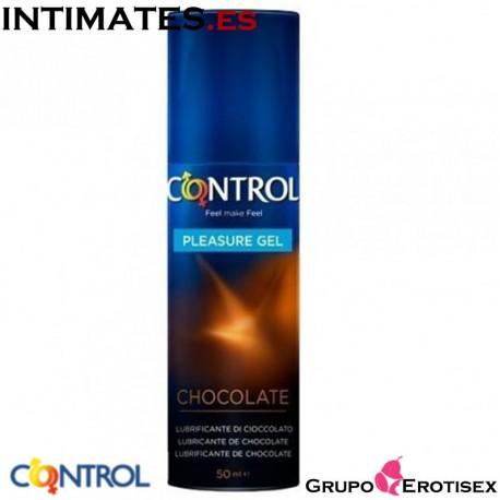 Chocolate · Lubricante aroma chocolate · Control