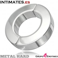 Anillo testículos acero inoxidable 14mm · Metal Hard