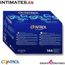Xtra Sensation · 144 Preservativos · Control