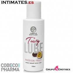 Tasty Passion Fruit · Lubricante base acuosa · Cobeco