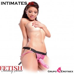 Silicone Strap-On Pink  · Fetish Fantasy Series
