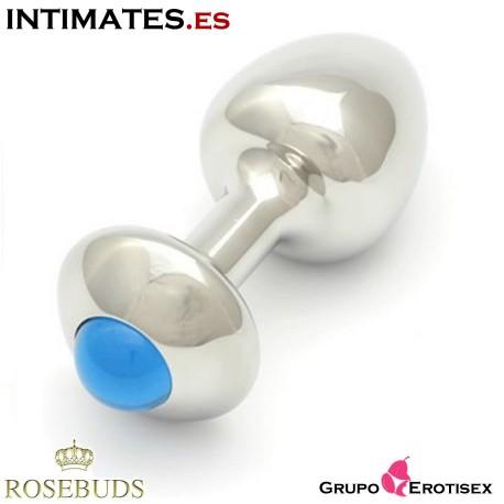 Aquamarine Verre New S · Bijoux Plug · Rosebuds
