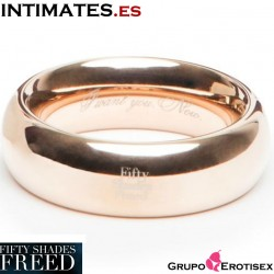 I Want You. Now · Anillo de amor de acero · Fifty Shades Freed