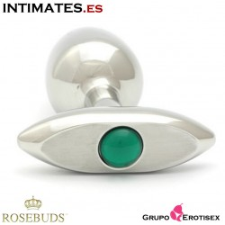 Green Verre New Medium M · Bijoux Plug · Rosebuds