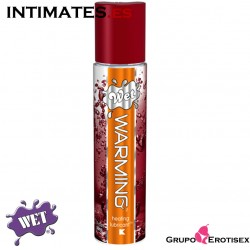 Warming · Lubricante efecto calor · Wet®