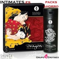 Dragon™ · Sensaciones eróticas inolvidables ♀ ♂ 60ml x 24uds· Shunga