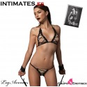 Bra Top and G-String - 3 Pcs · Leg Avenue