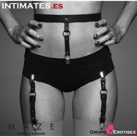 Liguero para ropa interior y medias negro · Maze