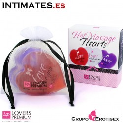 Hot Massage Hearts Set · Lovers Premium