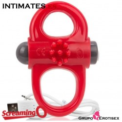Charged™ Yoga™ · Anillo recargable rojo · Screaming O