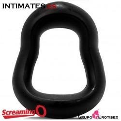 SwingO Curve · Anillo reversible negro · Screaming O