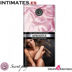 Afrodita 10 ml · Loción corporal piel de seda · Secret Play