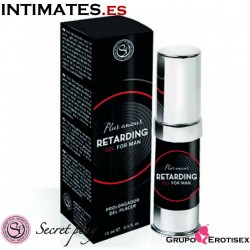 Gel retardante masculino 15ml  · Secret Play