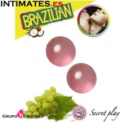Brazilian Balls Uva 2 uds.· Secret Play