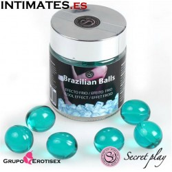 Brazilian Balls - Efecto frio · Tarro 6 uds. · Secret Play