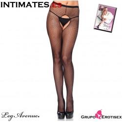 No. 1404 · Panty negro sin entrepierna · Leg Avenue