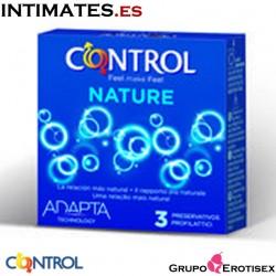 Nature · 3 Preservativos · Control