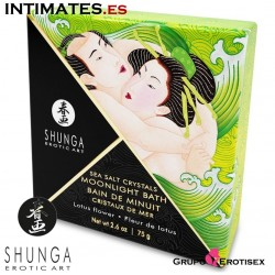 Lotus flower Sea Salt Crystal · Sales de baño · Shunga