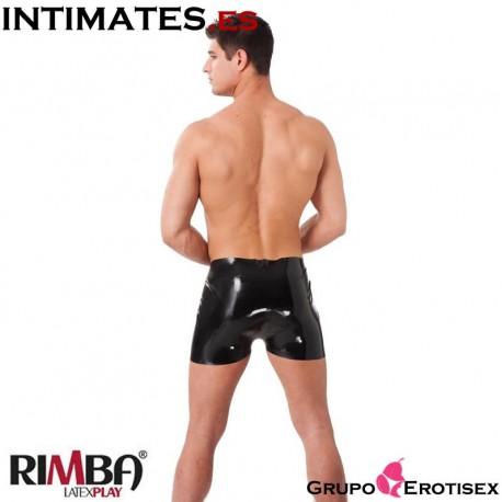 """No. 9030 Pantalón corto látex natural · Rimba Latex Play en intimates.es """"Tu Personal Shopper Erótico Online"""""""