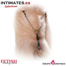 Nipple Clamps and Cockring Set · Fetish Fantasy