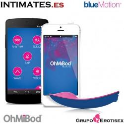 BlueMotion NEX1 · Vibrador inteligente con App · OhMiBod
