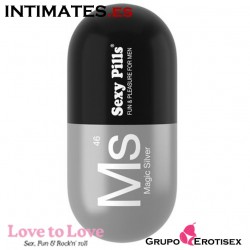 Sexy Pills Magic Silver 6 uds. · Mini Masturbador ♂ · Love to Love