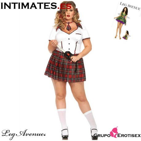 "Boarding School Flirt de Leg Avenue en intimates.es ""Tu Personal Shopper Online"""