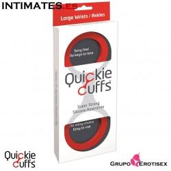 Esposas grandes de silicona - Rojas · Quickie Cuffs
