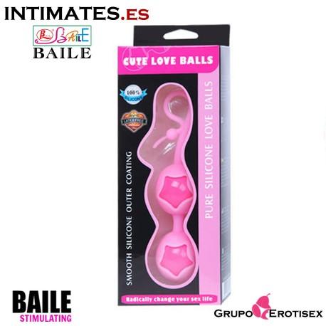 Cute Love Balls Purple de Baile en intimates-.es