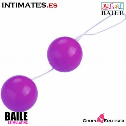 Twins Ball · Tira de bolas anales lila · Baile