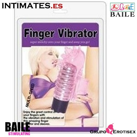 Vibrating Finger Stimulator · Mini vibrador dedo · Baile n intimates.es