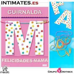 Guirnalda Felicidades Mamá · Inedit