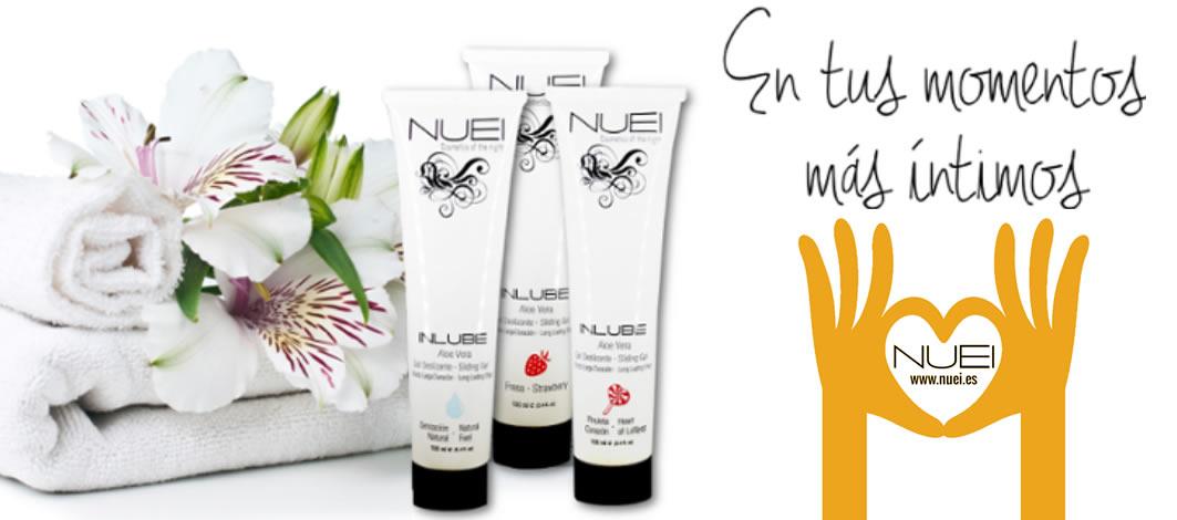 """En tus momentos más íntimos INLUBE de NUEI en intimates.es """"Tu Personal Shopper Online"""""""