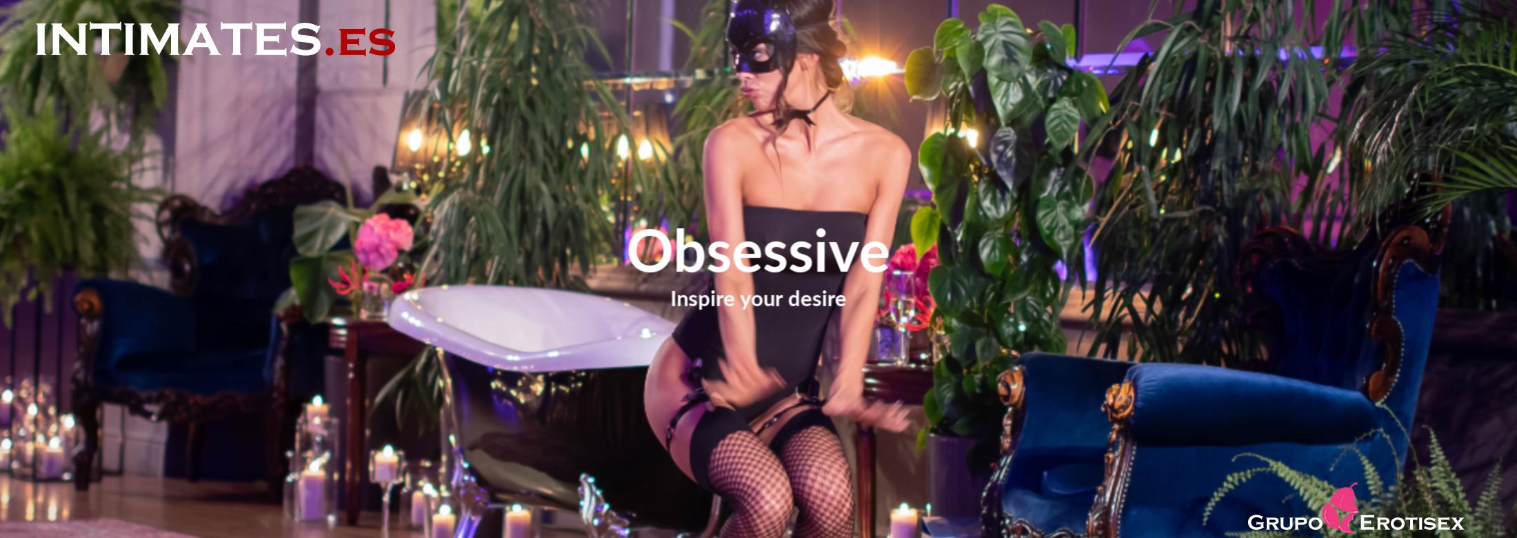 Obsessive te ofrece solo prendas de alta calidad, suaves al tacto y respetuosas con tu piel, sin olvidar que nuestro principal objetivo es ofrecerte la lencería más sexy con los diseños más novedosos del mercado.